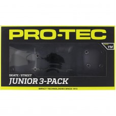 Pro Tec Junior 3 Pack Box Yth Med Black