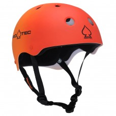 Pro Tec Classic Red Orange Fade LG Helmet