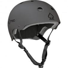 Pro Tec Classic Matte Grey LG Helmet