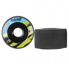 Rayne Envy 70mm 77a Longboard Wheels Black