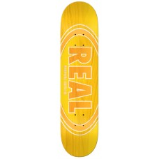 Real Oval Duo Fade Yellow Deck 8.25