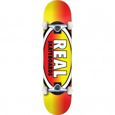 Real Oval Fades Complete 7.7 Yellow Red