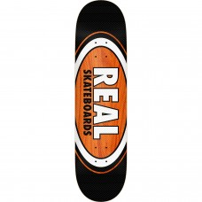 Real Am Edition Oval Gage Deck 8.25 Black Brown