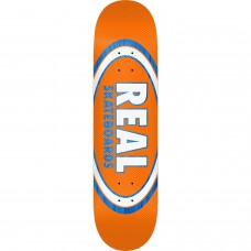 Real Am Edition Oval Jafin Deck 8.25 Orange Blue