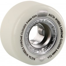 Ricta Chrome Clouds Wheels 54mm 92a White Black