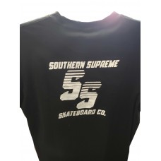 Southern Supreme Stacked 2019 T-shirt Black Med