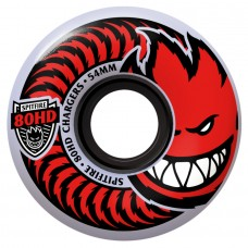 Spitfire Wheels 80hd Charger Cls Clr Red 54mm