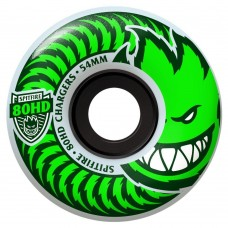 Spitfire Wheels 80hd Charger Classic Clear Green 54mm