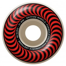 Spitfire Wheels F4 99 Classic Red 51mm