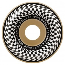 Spitfire Wheels F4 99 Check Confull Natural 52mm