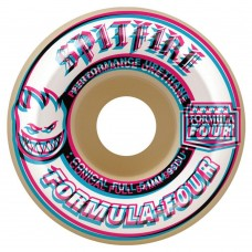 Spitfire Wheels F4 99 Overlay Conful Natural 54mm