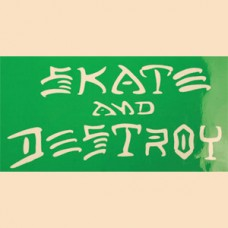Thrasher Sk8 & Destroy Med Sticker Asst