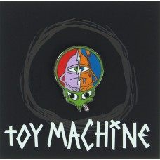 Toy Machine Turtle Head Lapel Pin