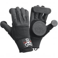 Triple 8 Longboard Slide Gloves LG XL Black
