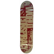 World Conspiracy Stencil Logo Red 7.5