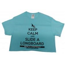 World Conspiracy Keep Calm T-shirt Baby Blue SM
