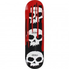 Zero 3 Skull With Blood Deck 8.25 Black White Red
